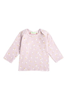 Розовая пижама с рисунком Bonpoint