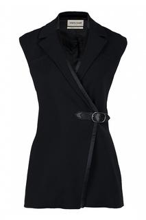 Черный костюм с жилетом Roberto Cavalli