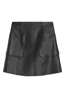 Черная юбка с карманами Bonpoint