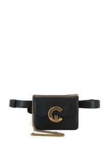 Поясная сумка с логотипом Bold C Roberto Cavalli