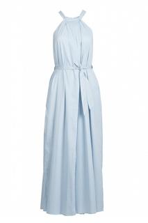 Платье-макси с вырезом халтер Eleventy