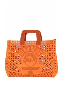 Оранжевая сумка Gcds