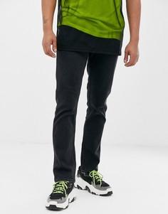 Черные джинсы слим Levis Line8 - Черный