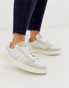 Белые кроссовки adidas Originals Supercourt - Белый