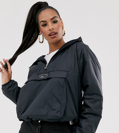 Черная куртка с флисовой подкладкой Nike - Черный
