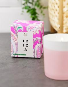 Свеча в емкости розового цвета River Island - ibiza - Желтый