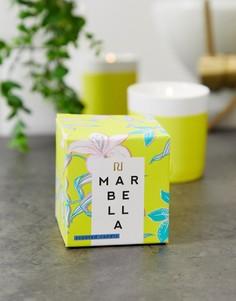 Свеча в емкости желтого цвета River Island - marbella - Зеленый