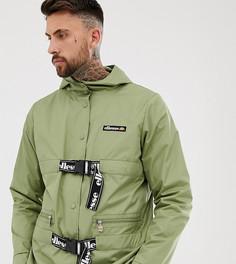 Зеленая куртка из переработанных материалов с пряжкой ellesse Samuele эксклюзивно для ASOS - Зеленый