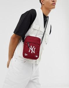 Красная сумка New Era MLB NY - Красный