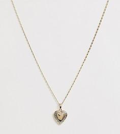 Золотистое ожерелье с медальоном Image Gang - Золотой