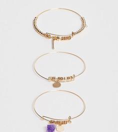 Золотистые браслеты с аметистом ALDO Padriwiel - Золотой