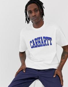 Белая футболка Carhartt WIP Theory - Белый