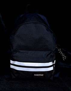 Темно-синий рюкзак со светоотражающими полосками Eastpak Padded PakR - 24 л - Темно-синий