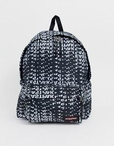 Рюкзак объемом 29 литров со сплошным принтом логотипа Eastpak Padded PakR XL - Черный