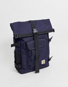 Темно-синий водонепроницаемый рюкзак объемом 21,5 л Carhartt WIP - Philis - Темно-синий