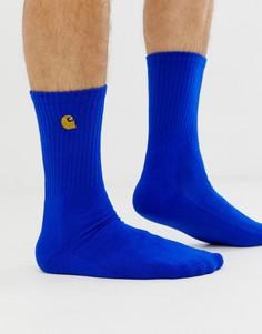 Синие носки Carhartt WIP Chase - Синий
