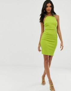 Облегающее платье с ремешками Vesper - Зеленый