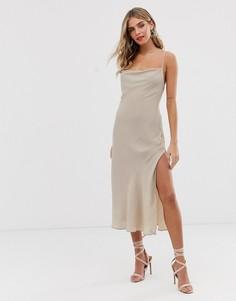 Платье Finders Keepers - Eve - Кремовый