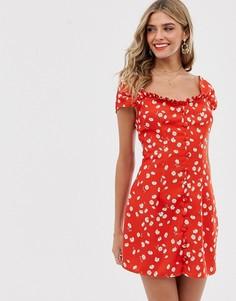 Платье мини Finders Keepers - Mae - Красный