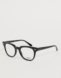 Очки-вайфареры с прозрачными стеклами Ray-Ban 0RX5377 - Черный