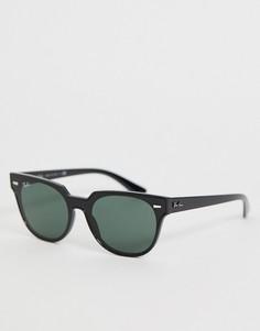 Солнцезащитные очки-вайфареры Ray-Ban 0RB4368N - Черный