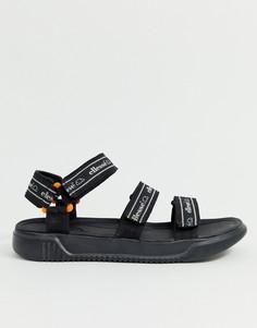 Черные сандалии ellesse denso - Черный