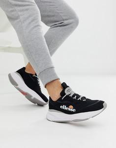 Черные массивные кроссовки ellesse massello - Черный