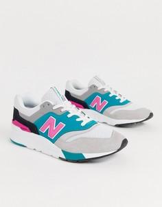 Серые кроссовки New Balance 997H - Серый