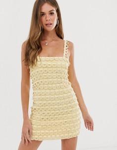 Платье-комбинация Stevie May - Желтый
