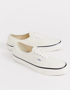 Кремовые кеды Vans Anaheim Authentic 44 DX - Кремовый