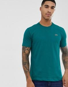 Зеленая футболка с логотипом Lacoste - Зеленый
