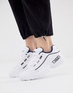 Белые кроссовки Fila Hometown - Белый