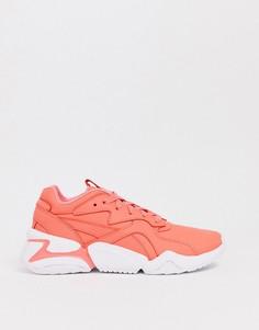 Кроссовки оранжево-кораллового цвета Puma x Pantone Nova - Оранжевый