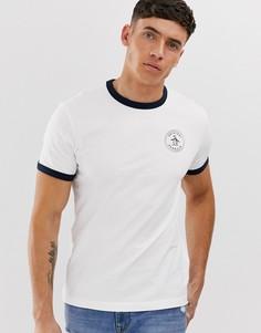 Белая футболка с логотипом Original Penguin - Белый