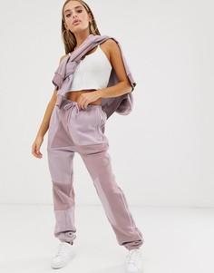 Мягкие спортивные брюки adidas Originals x Danielle - Cathari - Фиолетовый