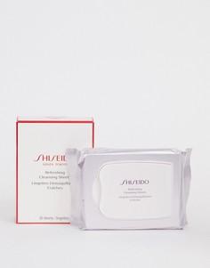 Освежающие и очищающие салфетки (30 шт.) Shiseido - Бесцветный