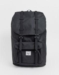 Черный рюкзак объемом 25 л с отделкой Herschel Supply Co Little America - Черный