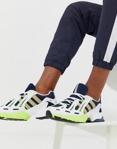 Темно-синие кроссовки adidas Originals EQT Gazelle - Темно-синий