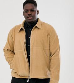 Вельветовая куртка на молнии Another Influence - Рыжий
