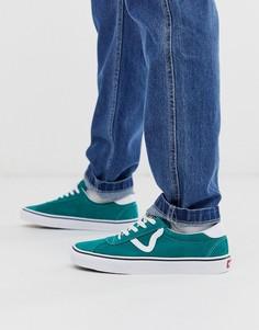 Зеленые кроссовки Vans Sport - Зеленый