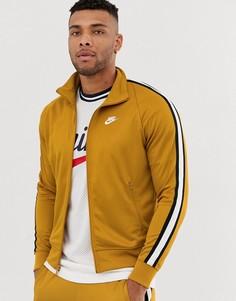 Золотистая спортивная куртка Nike Tribute - Золотой
