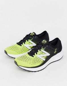Черные кроссовки для бега New Balance 1080 - Желтый