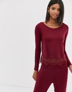 Пижама с лонгсливом Pour Moi - Красный