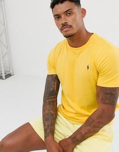 Желтая футболка с логотипом Polo Ralph Lauren - Желтый
