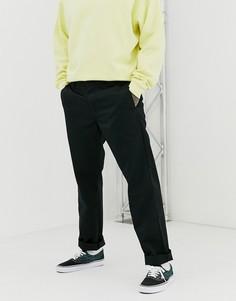 Черные свободные брюки суженного книзу кроя Carhartt WIP Master - Черный