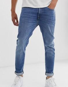 Светлые эластичные джинсы зауженного кроя PS Paul Smith Authentic - Синий