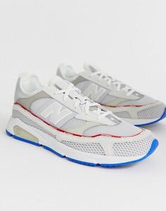 Белые кроссовки New Balance X-Racer - Белый