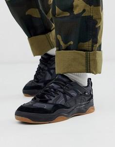 Кроссовки в стиле колор блок черного цвета Vans Varix - Черный