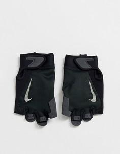 Черные мужские перчатки Nike Training - Черный