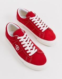 Красные кеды Vans - Sid DX - Красный